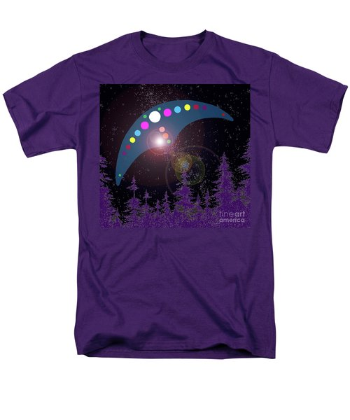 Men's T-Shirt  (Regular Fit) featuring the painting Alien Skies by James Williamson
