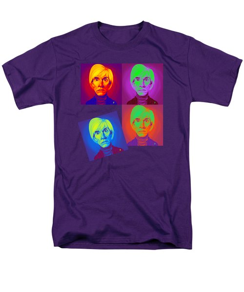 Andy Warhol On Andy Warhol Men's T-Shirt  (Regular Fit) by Rob Snow