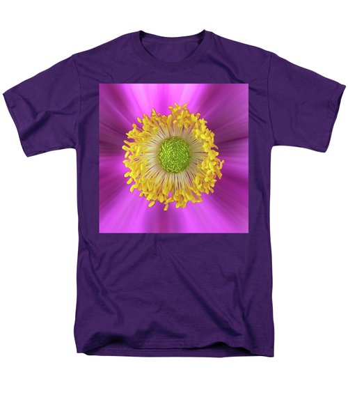 Anemone Hupehensis 'hadspen Men's T-Shirt  (Regular Fit) by John Edwards
