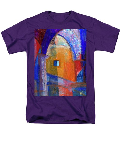 Arches And Window Men's T-Shirt  (Regular Fit) by Walter Fahmy