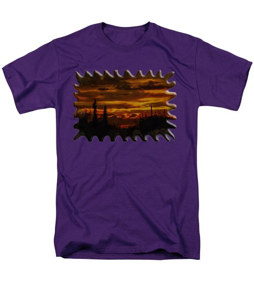 Sunset No.16 Men's T-Shirt  (Regular Fit) by Mark Myhaver
