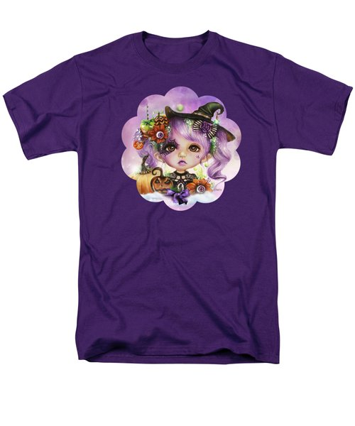 Men's T-Shirt  (Regular Fit) featuring the drawing Halloween Hannah - Munchkinz Character  by Sheena Pike