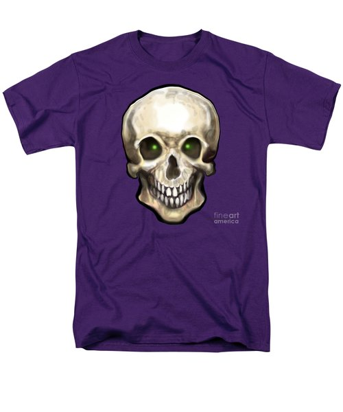 Skull Men's T-Shirt  (Regular Fit) by Kevin Middleton