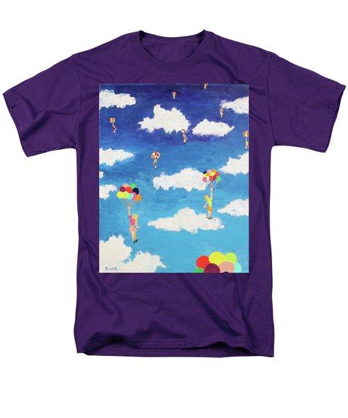 Balloon Girls Men's T-Shirt  (Regular Fit)