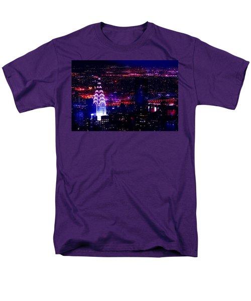Beautiful Manhattan Skyline Men's T-Shirt  (Regular Fit)