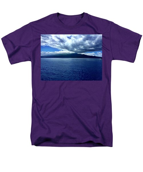 Men's T-Shirt  (Regular Fit) featuring the photograph Boat View 2 by Michael Albright