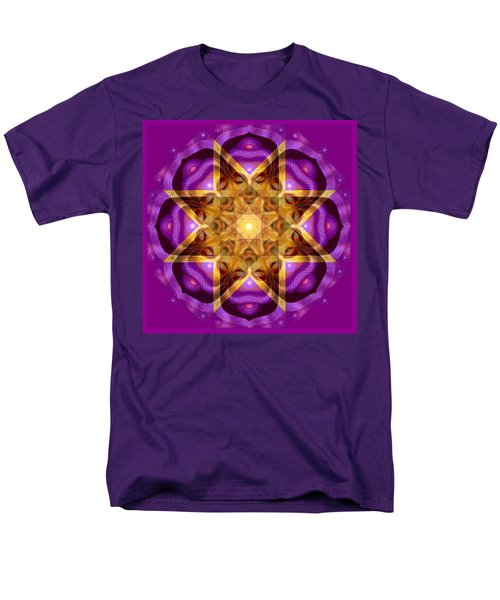 Men's T-Shirt  (Regular Fit) featuring the painting Buddha Mandala by Sue Halstenberg