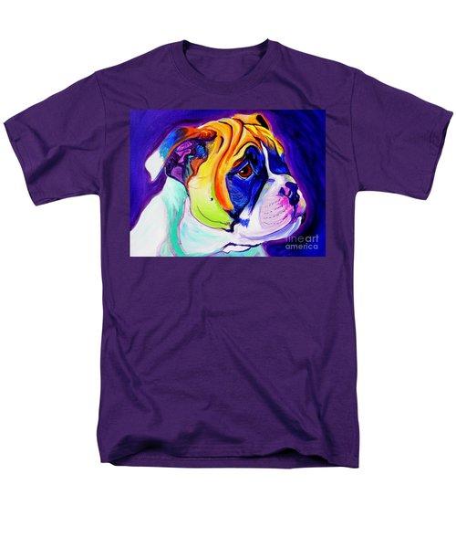 Bulldog - Pup Men's T-Shirt  (Regular Fit)