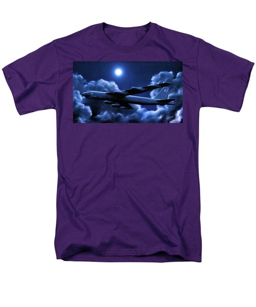 By The Light Of The Blue Moon Men's T-Shirt  (Regular Fit) by Dave Luebbert