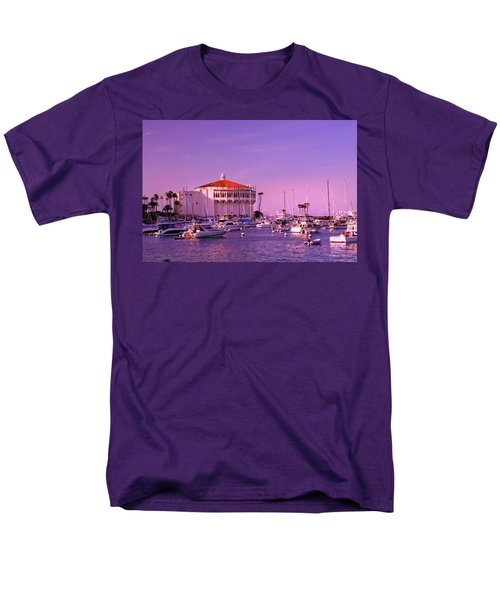 Catalina Casino Men's T-Shirt  (Regular Fit) by Marie Hicks