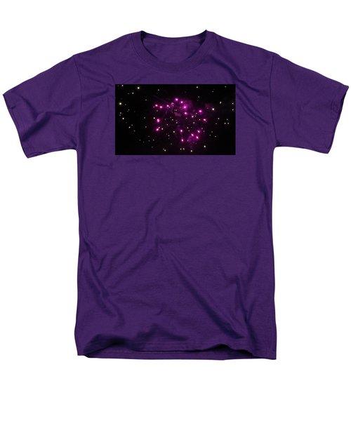 Celestial Firework Men's T-Shirt  (Regular Fit)