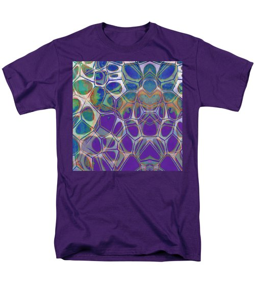 Cell Abstract 17 Men's T-Shirt  (Regular Fit) by Edward Fielding