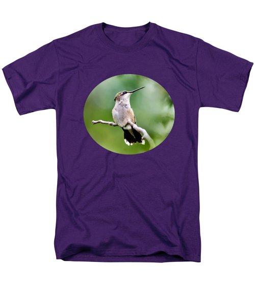 Charming Hummingbird Men's T-Shirt  (Regular Fit) by Christina Rollo