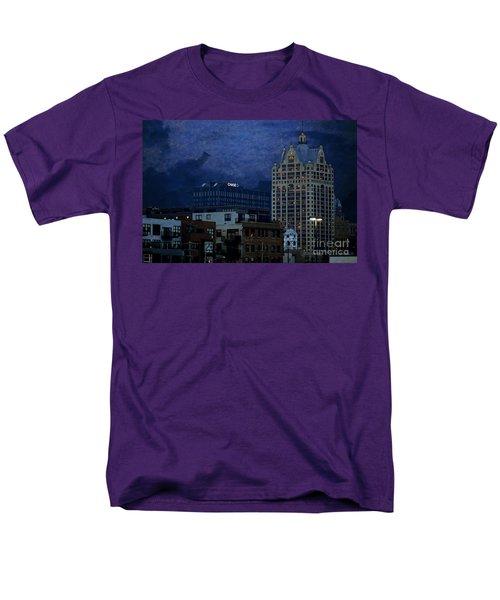 Chase Men's T-Shirt  (Regular Fit) by David Blank
