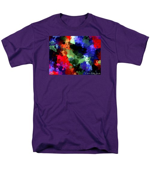 Men's T-Shirt  (Regular Fit) featuring the painting Chasing Sleep by Holley Jacobs