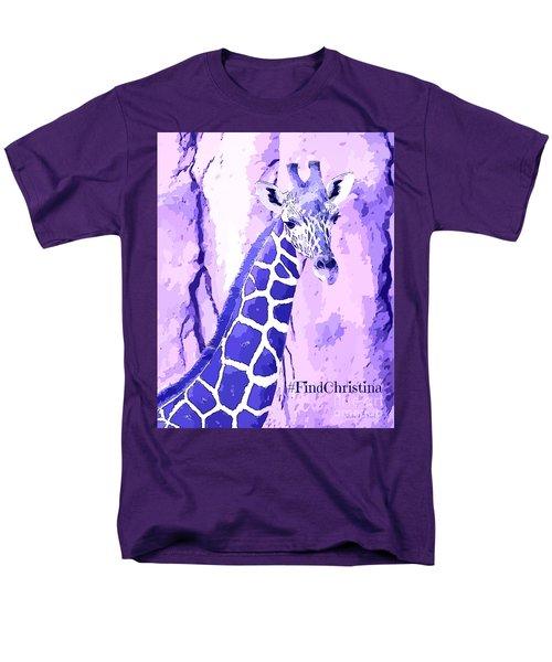Christina's Giraffe Men's T-Shirt  (Regular Fit) by Robert ONeil