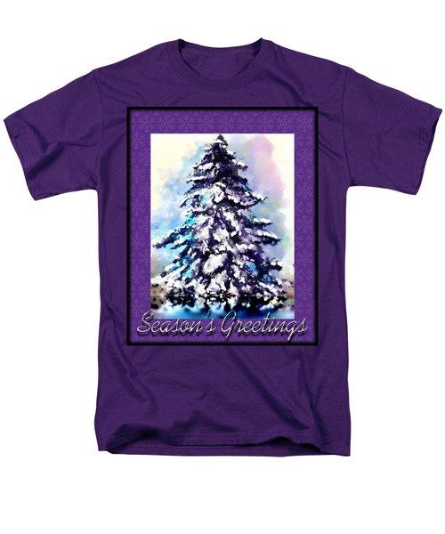 Christmas Tree Men's T-Shirt  (Regular Fit) by Susan Kinney