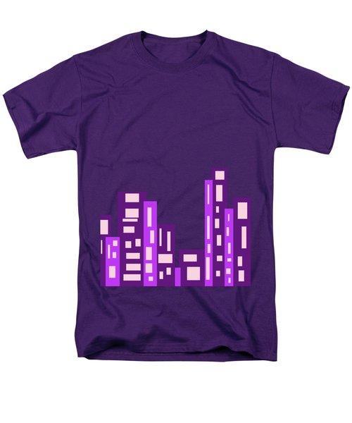City Night Men's T-Shirt  (Regular Fit) by Joy Watson