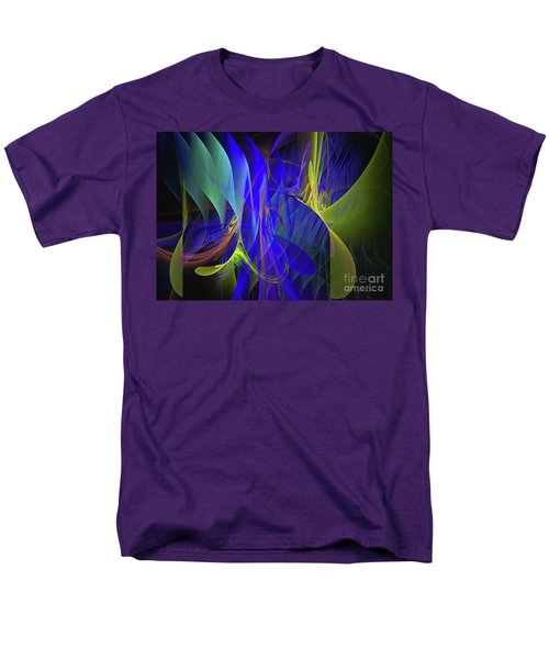 Men's T-Shirt  (Regular Fit) featuring the digital art Crescendo by Sipo Liimatainen