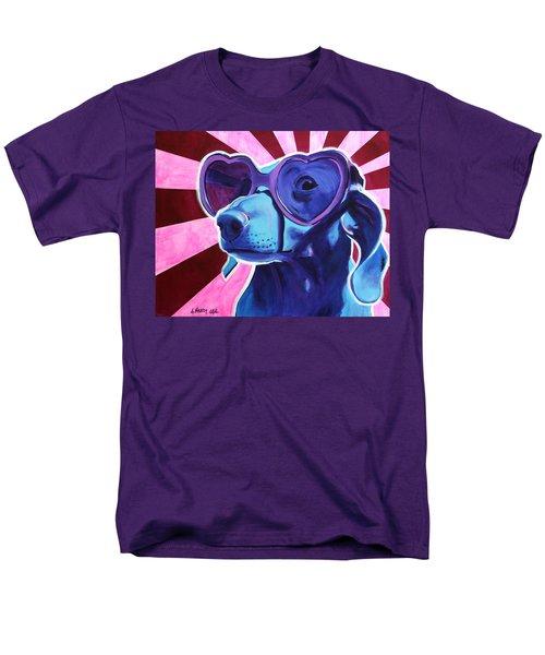 Dachshund - Puppy Love Men's T-Shirt  (Regular Fit)