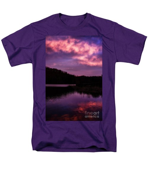 Men's T-Shirt  (Regular Fit) featuring the photograph Dawn Big Ditch Wildlife Management Area by Thomas R Fletcher
