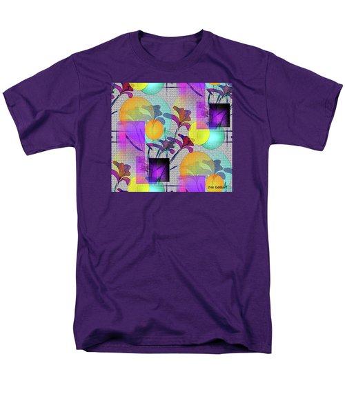Design #3 Men's T-Shirt  (Regular Fit) by Iris Gelbart