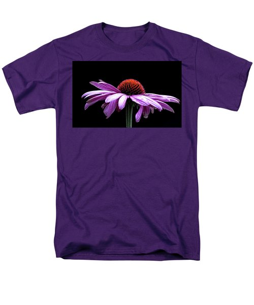 Echinacea Men's T-Shirt  (Regular Fit) by Sheldon Bilsker