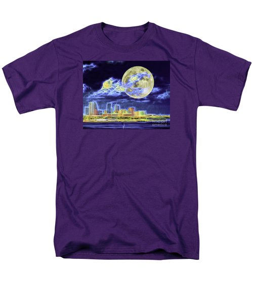 Men's T-Shirt  (Regular Fit) featuring the photograph Electric Tampa by Ken Frischkorn