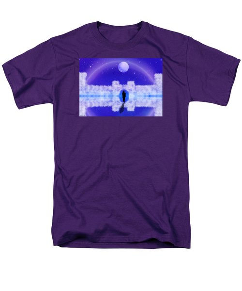 Men's T-Shirt  (Regular Fit) featuring the digital art Emily's Journey Part II by Bernd Hau