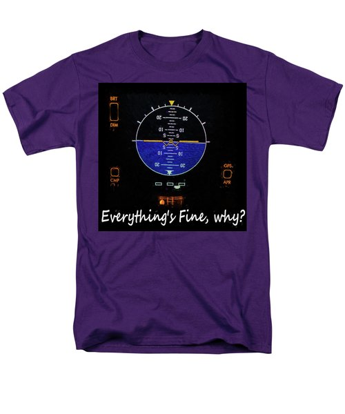 Men's T-Shirt  (Regular Fit) featuring the photograph Everything Is Fine by JC Findley