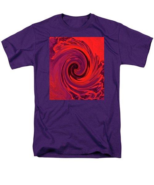 Eye Of The Honu - Red Men's T-Shirt  (Regular Fit) by Kerri Ligatich