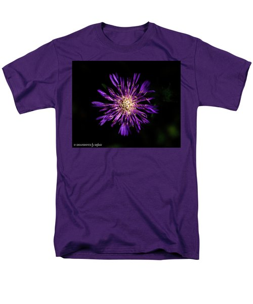 Flower Or Firework Men's T-Shirt  (Regular Fit) by Stefanie Silva