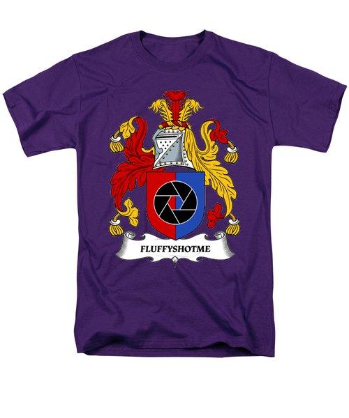 Fluffyshotme Logo Men's T-Shirt  (Regular Fit) by David Morefield