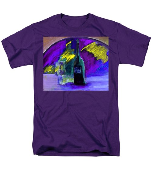 Men's T-Shirt  (Regular Fit) featuring the painting Ghost Wine by Lisa Kaiser