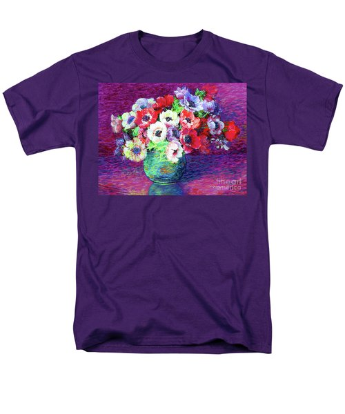 Gift Of Anemones Men's T-Shirt  (Regular Fit) by Jane Small