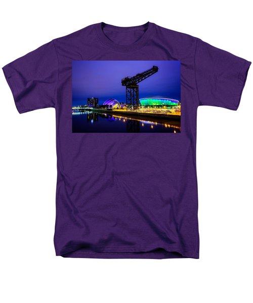 Glasgow At Night Men's T-Shirt  (Regular Fit) by Ian Good