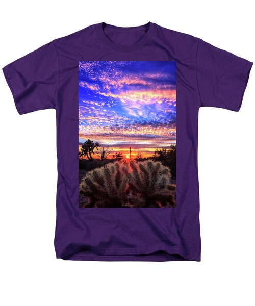 Glimmering Skies Men's T-Shirt  (Regular Fit) by Rick Furmanek
