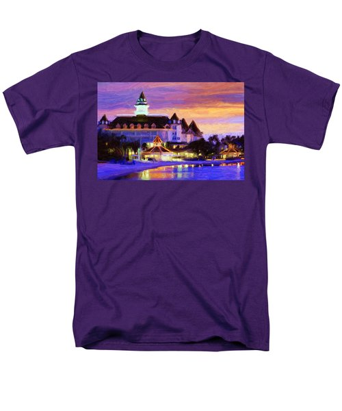 Grand Floridian Men's T-Shirt  (Regular Fit) by Caito Junqueira