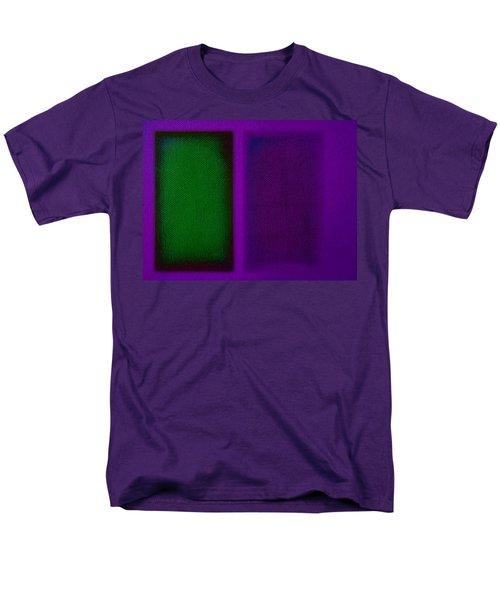 Green On Magenta Men's T-Shirt  (Regular Fit) by Charles Stuart