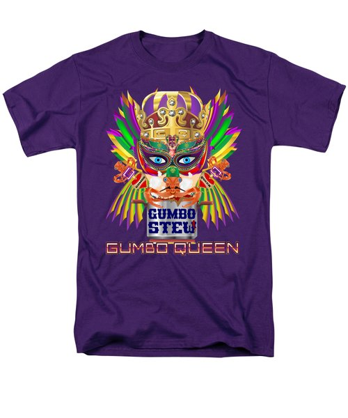 Gumbo Queen 1 All Products  Men's T-Shirt  (Regular Fit)