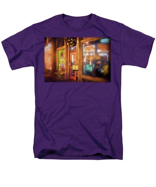 Hampden Cafe Men's T-Shirt  (Regular Fit) by Glenn Gemmell