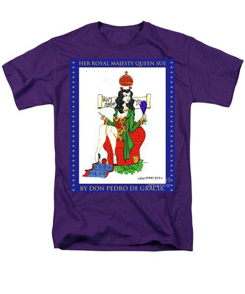 Her Royal Majesty Queen Sue Men's T-Shirt  (Regular Fit) by Don Pedro De Gracia