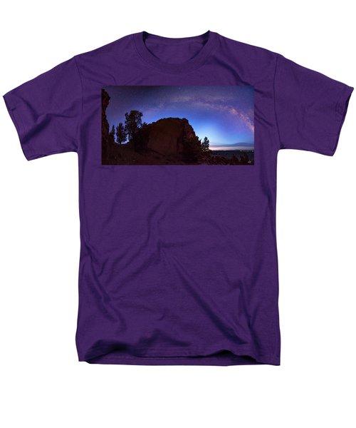 Men's T-Shirt  (Regular Fit) featuring the photograph High Desert Dawn by Leland D Howard