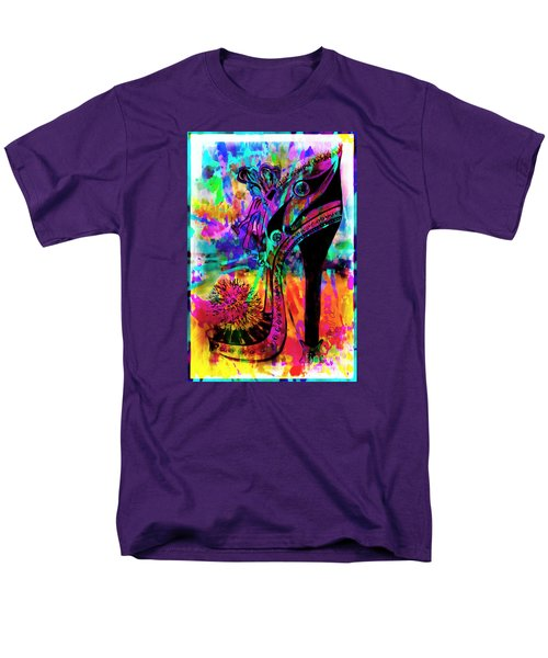 High Heel Heaven Abstract Men's T-Shirt  (Regular Fit) by Jolanta Anna Karolska