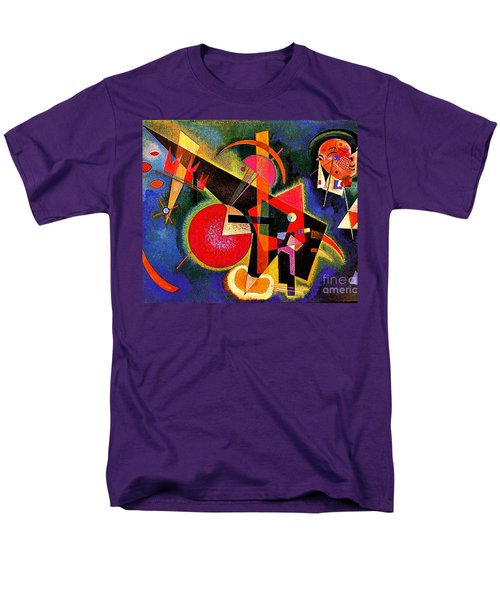 In The Blue Men's T-Shirt  (Regular Fit) by Kandinsky
