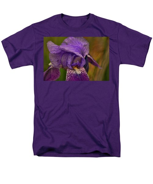 Men's T-Shirt  (Regular Fit) featuring the photograph Iris Popping Out by Rick Friedle