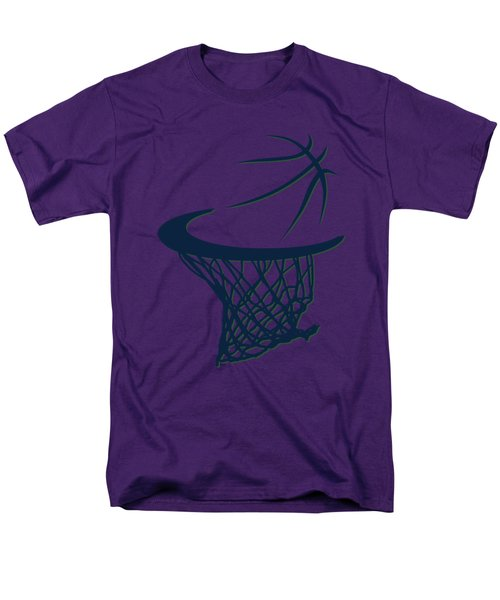 Jazz Basketball Hoop Men's T-Shirt  (Regular Fit) by Joe Hamilton