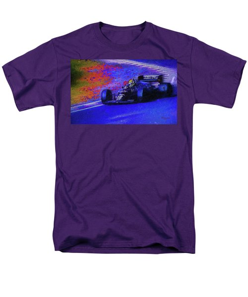 Men's T-Shirt  (Regular Fit) featuring the mixed media John Player Special by Marvin Spates