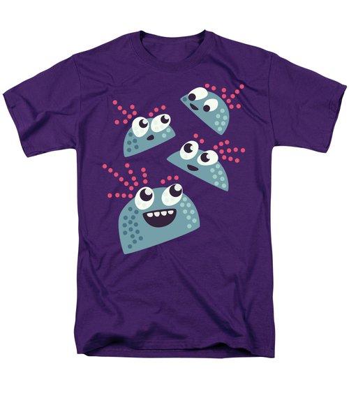 Kawaii Cute Candy Friends Men's T-Shirt  (Regular Fit)