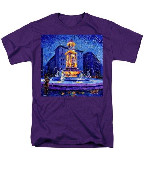 La Fontaine Des Jacobins Men's T-Shirt  (Regular Fit)